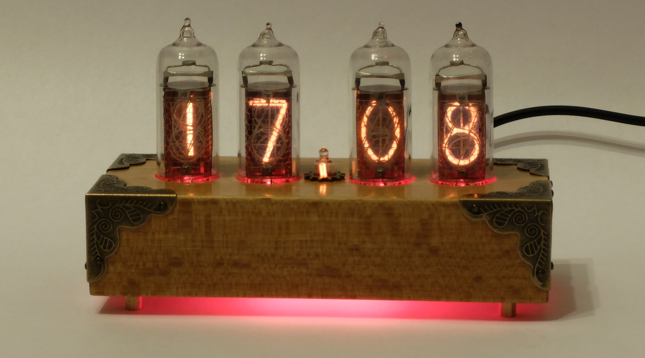 Газоразрядный индикатор часы своими руками 527