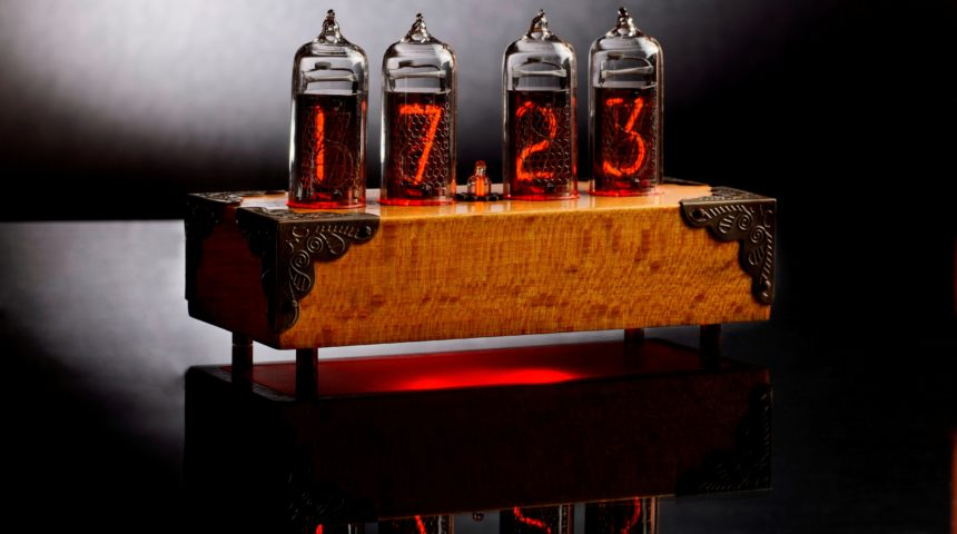 Nixie Clock на индикаторах ИН-14